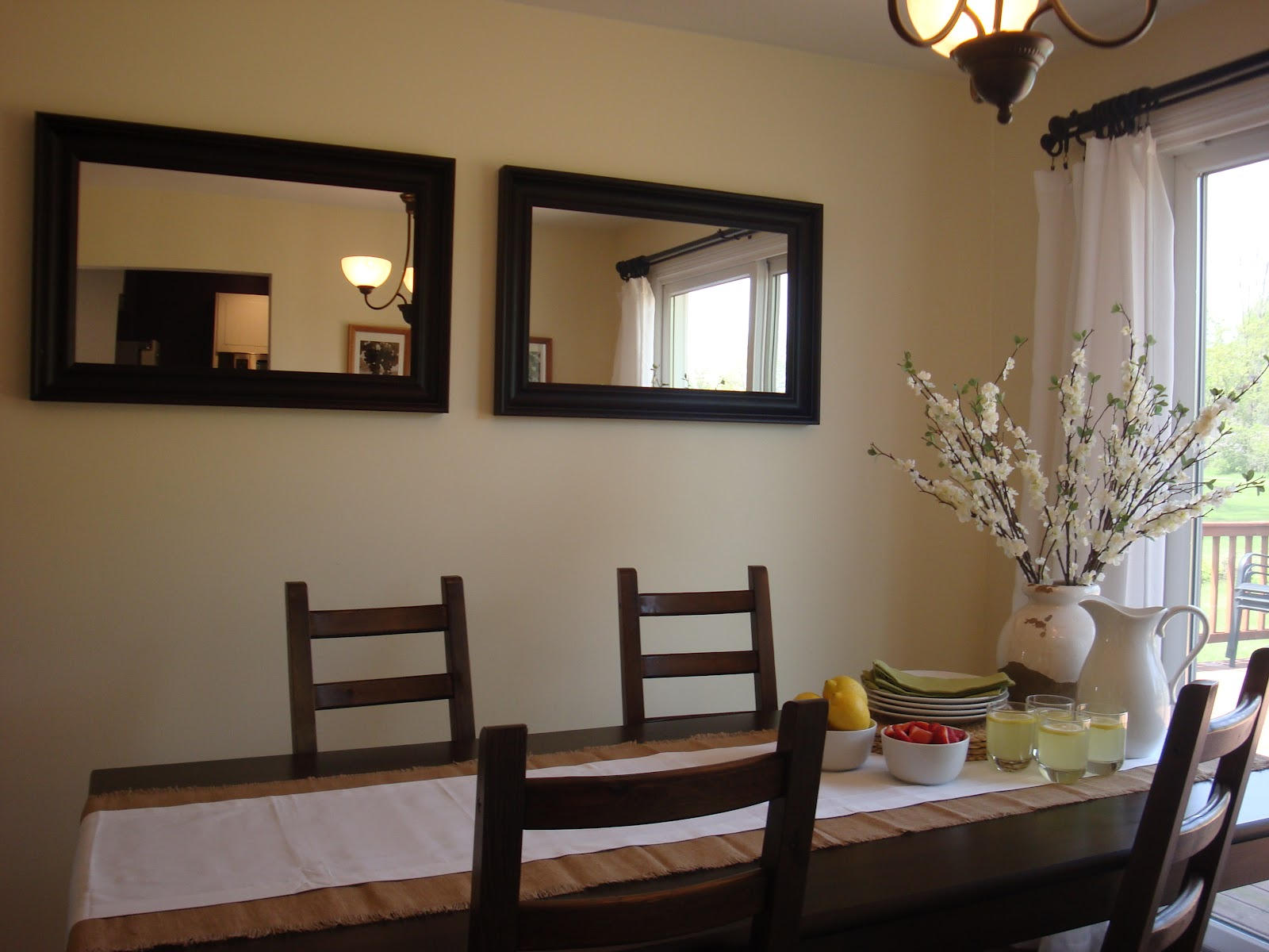 Ashley 39 s nest decorating a dining room - How to decorate a dining room ...
