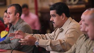 """El presidente de Venezuela anuncia en televisión la detención de uno de los """"cabecillas"""""""