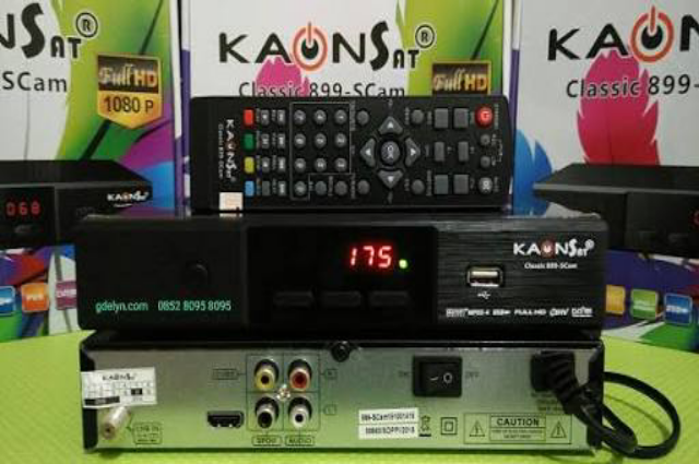 Cara Upgrade Firmware Receiver Kaonsat Classic HD