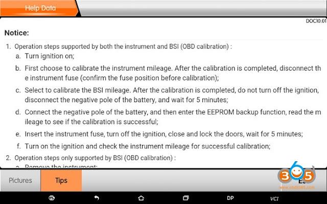 obdstar-PSA-contachilometri correzione-manuale-8