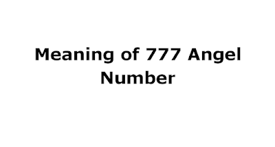 meaning of 777