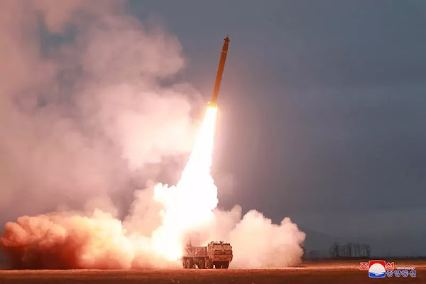 Test-fire of super-large MLRS conducted by DPRK Academy of Defence Science, November 2019