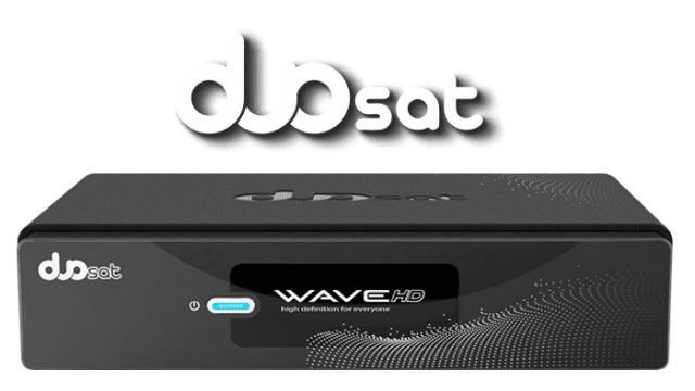 DUOSAT WAVE HD NOVA ATUALIZAÇÃO V 115 - 30/04/2017