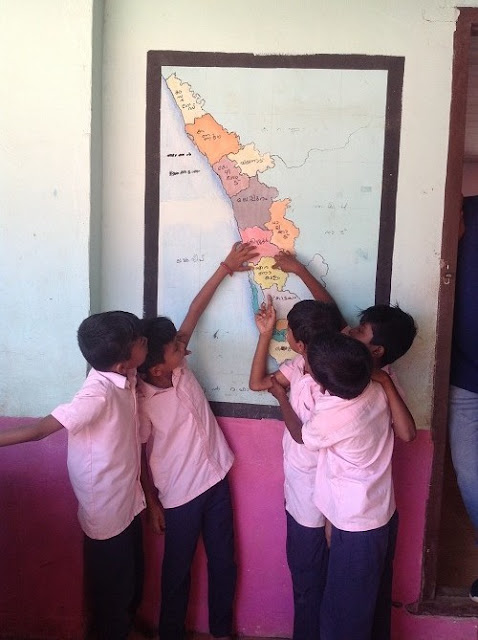 ecoliers au kerala