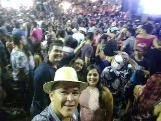 Coordenador de Meio Ambiente de Guarabira PB, Luciano Procópio participa de festa de São Pedro do Nordeste