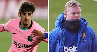 Koeman reportedly had chat with Trincao