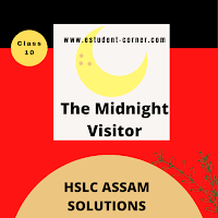 HSLC Assam SEBA solutions | The Midnight Visitor Questions Answers | English | Rapid Reader