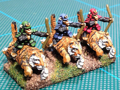 1st place: Mounted Samurai Apes, by Ironduke - wins £20 Pendraken credit, and a 2 player Starter Set from Hawk Wargames!
