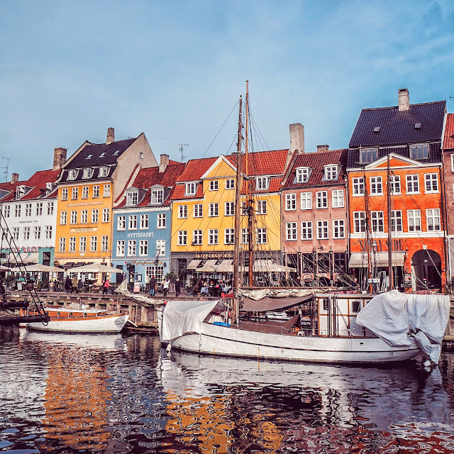 Nyhaven - take a public boat for a budget visit to Copenhagen