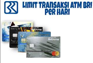 Limit Transaksi ATM BRI
