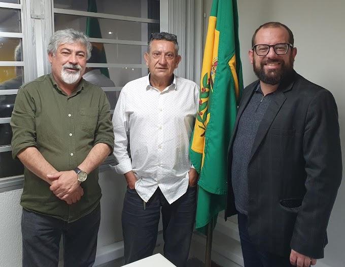 Eder Borges e Amaury Castanho, lideranças paranaenses de direita articulam união para 2022