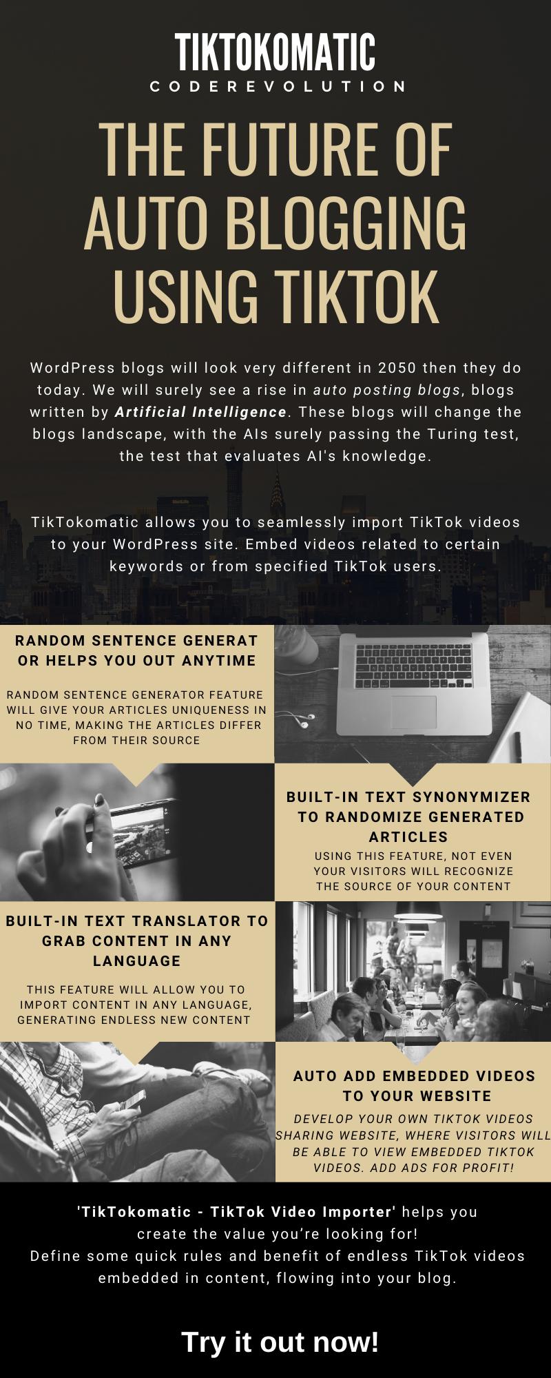 TikTokomatic Video Importer