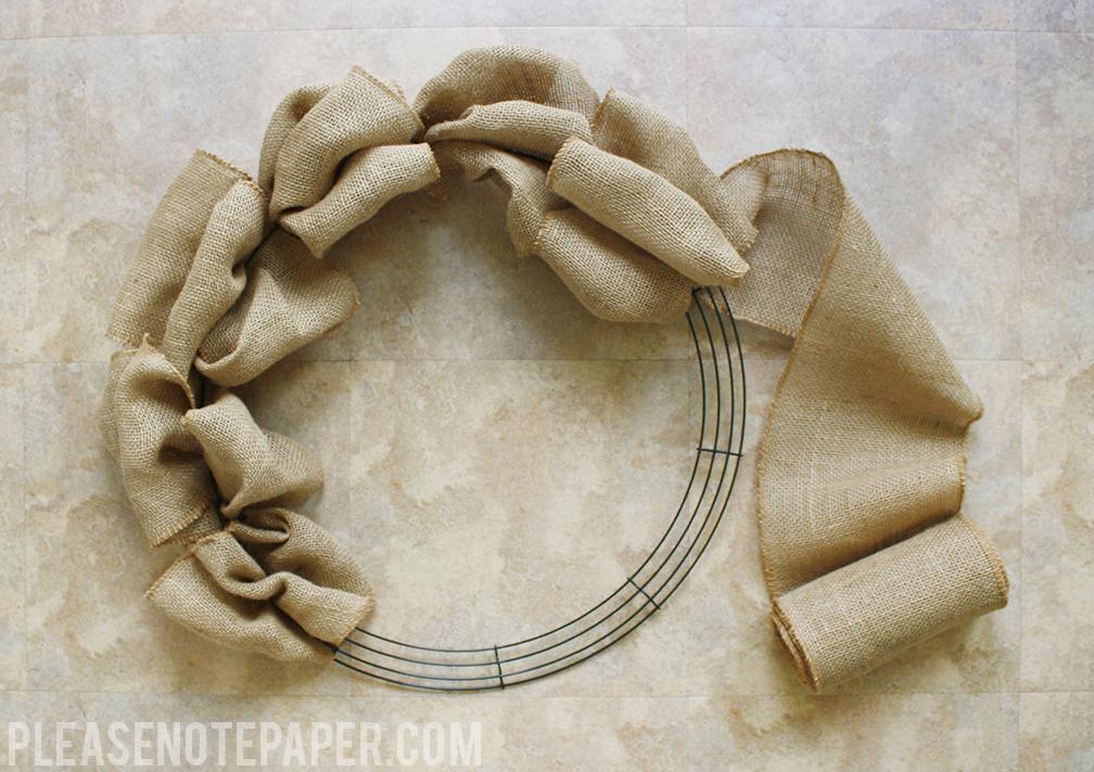 Please note diy patriotic burlap wreath for How to use burlap ribbon