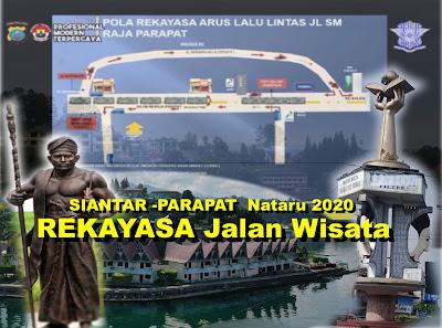 REKAYASA Jalan Wisata SIANTAR -PARAPAT Nataru 2020