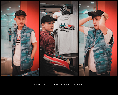 publicity factory outlet baju branded murah