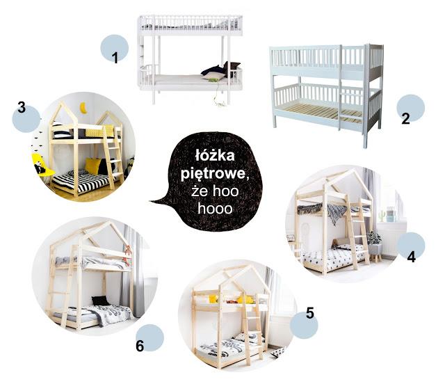 """projekt """"POKÓJ BRATA I SIOSTRY"""" (cz. 5) - Łóżko piętrowe dla dzieci - jakie wybrać?"""
