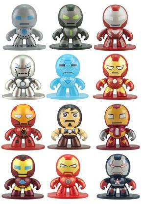 Marvel's Iron Man 3 Micro Mighty Muggs Blind Box Series Vinyl Figures by Hasbro