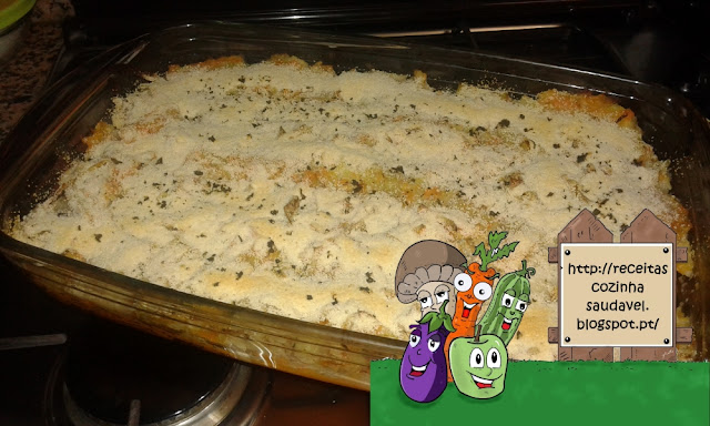 Bacalhau com Batata Doce e Legumes