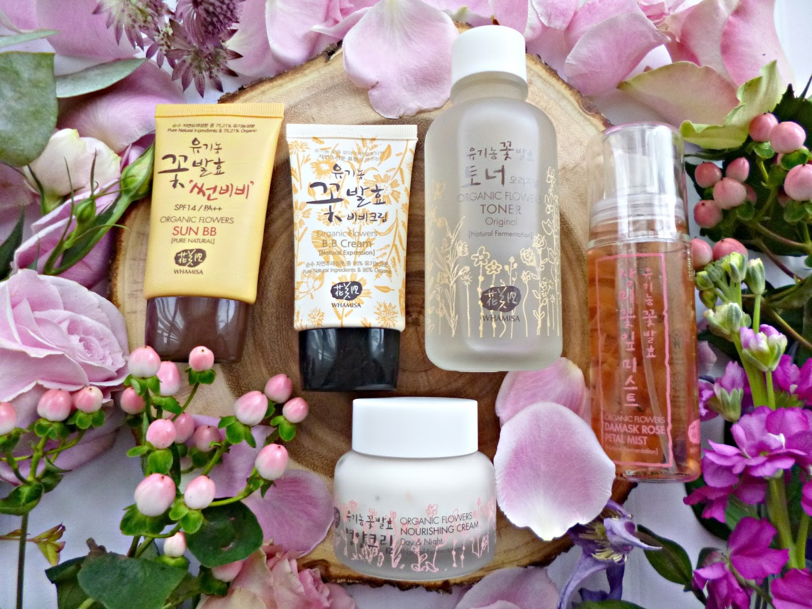 New in: Korean natural skincare from Whamisa