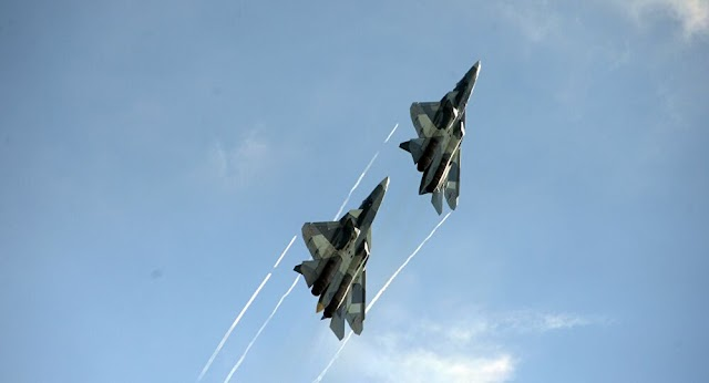 What happens in the skies? Production of the new Russian SU-57 single-engine fighter begins on.
