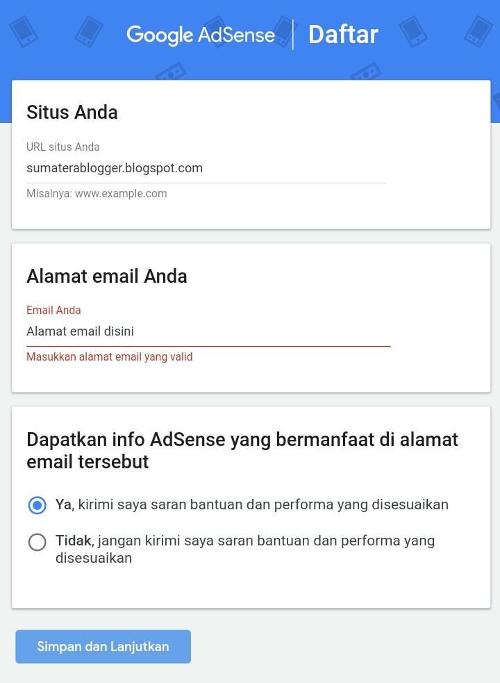 syarat daftar google adsense