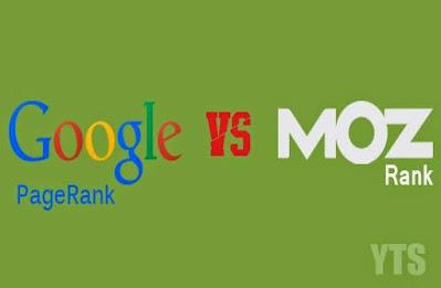 Google-Page-rank-vs-moz-rank