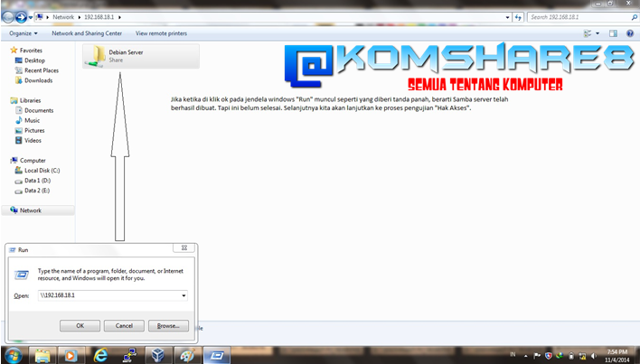 Cara Install dan Konfigurasi Samba Server pada Debian Server