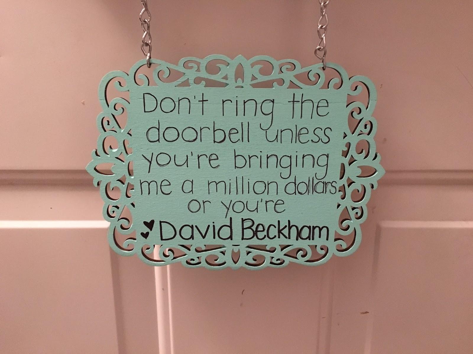 napping door sign