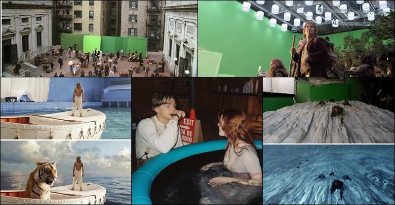 Behind The Scene Pictures Of Some Most Famous And Memorable Hollywood Movie Scenes