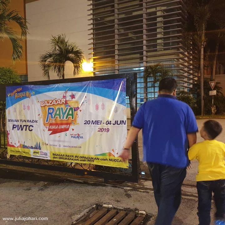 Bazaar Raya 2019 PWTC Kuala Lumpur, bazar raya yang kelima kami terjah!