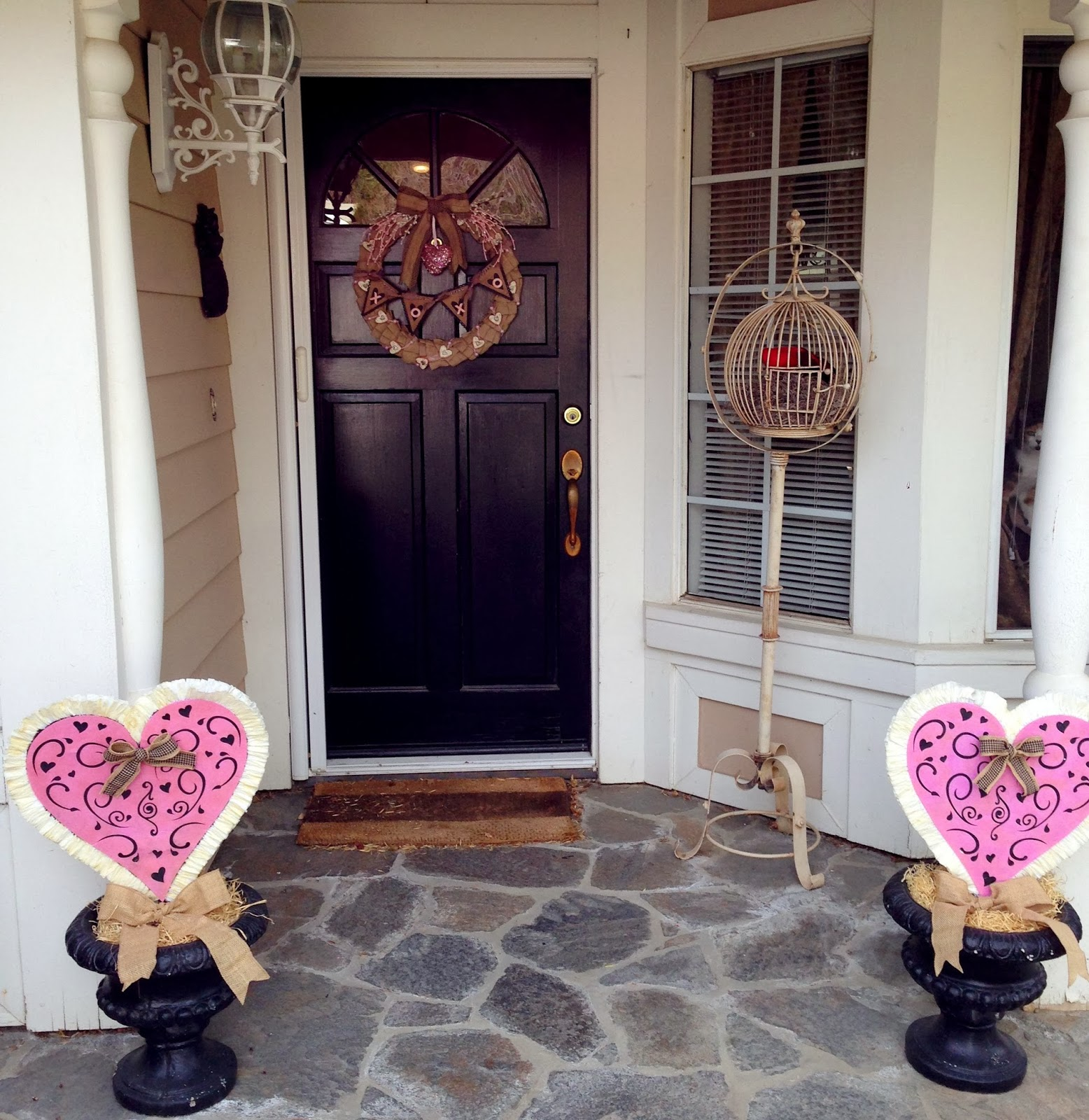Plays Well With Paper: Vintage Valentine Home Decor