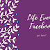 Facebook Life event Update 2019