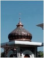 kubah masjid dari tembaga