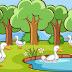 गीज़ एंड द फिग ट्री   The Wise Old Bird Panchatantra Stories