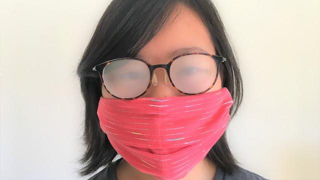 Cara Elak Masalah Cermin Mata Berkabus Ketika Memakasi Face Mask