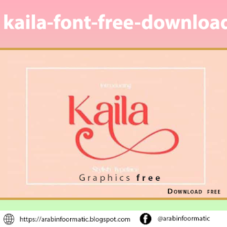 kaila-font-free-download