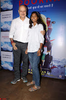 Anupam Kher With Star cast of MOvie Poorna (2) Red Carpet of Special Screening of Movie Poorna ~ .JPG