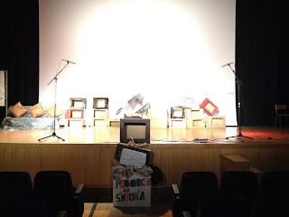 Galería de imágenes de BASURA TV en el Colegio Nuestra Señora del Carmen - ELX (2012)