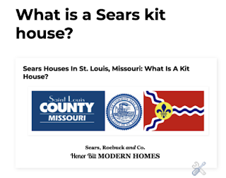 Link to blog post explaining what a Sears house is