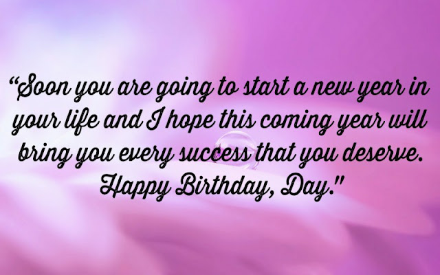 Happy Birthday wishes with quotes