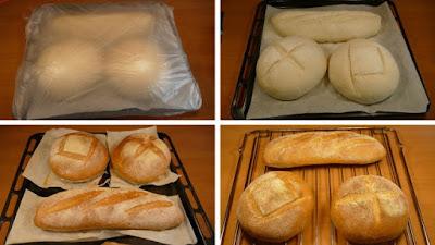 Pan para principiantes. Elaboración 2ª parte