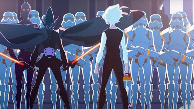 Star Wars: Visions é anime de guerra nas estrelas