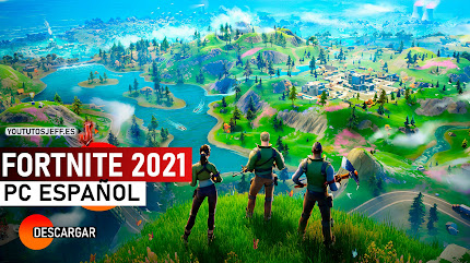 Como Descargar Fortnite para PC 2021 Ultima Version FULL ESPAÑOL
