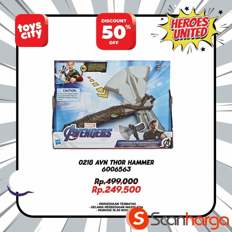 Promo Toys City Fantastic HEROES Collection Special Discount up to 50% 8