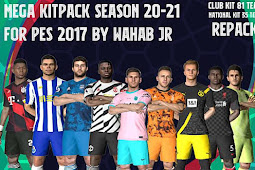 MEGA Kitpack Season 2020-2021 V7 AIO - PES 2017