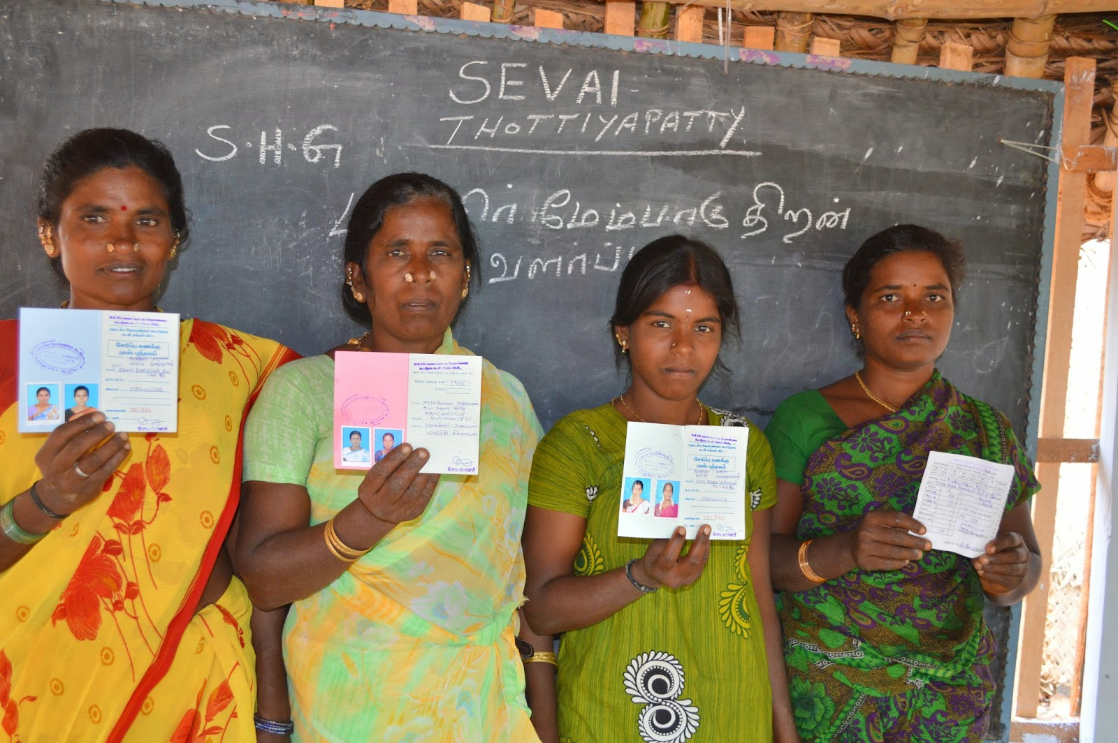 SEVAI/OFI/SG-Watershed for poor through Thottiyapatty women self help groups.