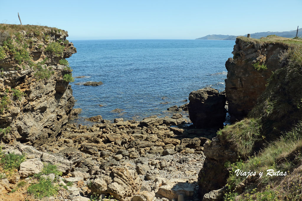 Senda costera playa de la Griega - La Isla