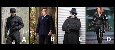 Figure: What spy outfit do you choose to wear for this mission?