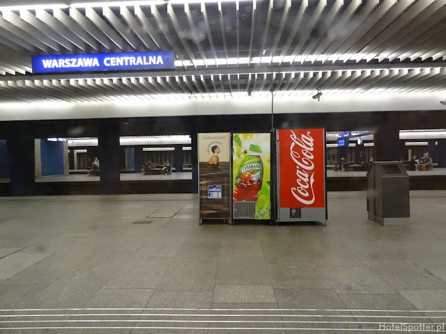 Pendolino Warszawa Centralna - Katowice Główne