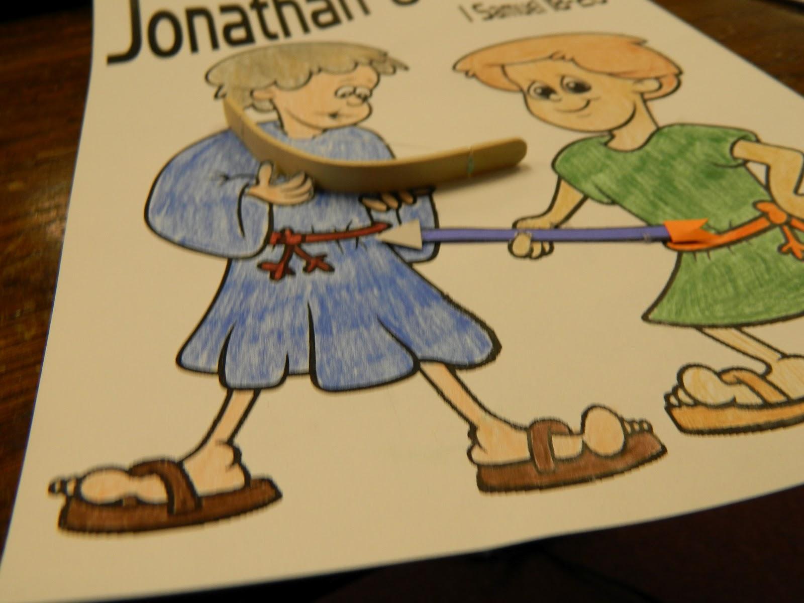 David And Saul Preschool Craft